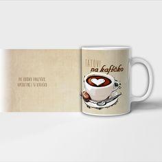 Hrníček na kafíčko pro maminku, babičku, dědu nebo tatínka. Mugs, Tableware, Dinnerware, Tumblers, Tablewares, Mug, Dishes, Place Settings, Cups