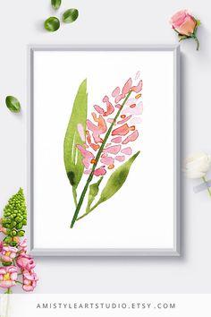 Wall Art PrintLilac FlowerBotanical PrintFloral