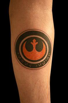 rebel alliance star wars tattoo