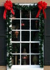 adornos navidenos para puertas y ventanas