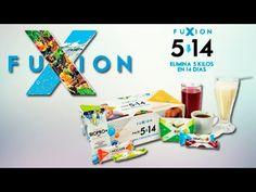 FUXION - PACK 5/14 - Bajar de Peso de Forma Saludable - 5 Kilos en14 Días