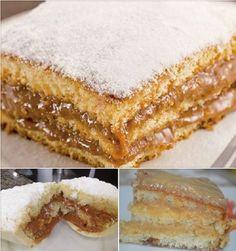 Banana Chips Doce e Salgado No Salt Recipes, Sweet Recipes, Cake Recipes, Cooking Recipes, Food Cakes, Cupcake Cakes, No Bake Desserts, Delicious Desserts, New Year's Cake