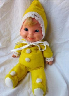 Kinda familiar? I don't remember the name of this doll I just remember I had one and she was pink
