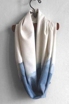 Short Raw Silk Scarf