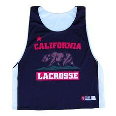 California Lacrosse Sublimated Lacrosse Pinnie