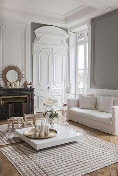 Дизайн вне времени: апартаменты в Лионе   Пуфик - блог о дизайне интерьера