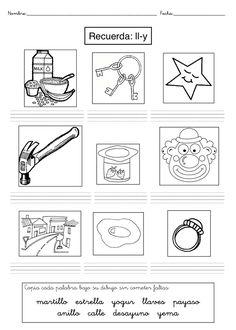 Actividades para imprimir Dificultades ortográficas 12