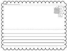 pig writing paper