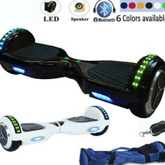 Hoverboards Brand new black and white hoverboard available. Comes with Bluetooth, speaker and led light. Other