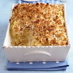 This luxurious macaroni and cheese keeps unbaked in the refrigerator for up to a day; in the oven, it turns piping hot and creamy inside, and golden brown on top in less than an hour. Substitute your favorite melting cheeses (mozzarella, Monterey Jack, and fontina are great options), or vary the proportions of the ones listed here.