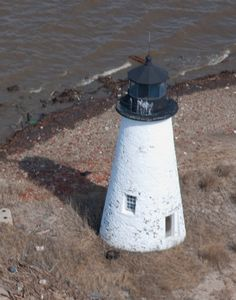 Pooles Island Light - Located on the northwestern point of Poole's Island in the middle of the Chesapeake Bay northwest of Tolchester Beach. Inaccessible: the island was formerly used for bombing practice and is littered with unexploded ordnance.