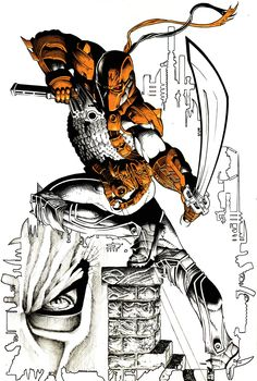 Deathstroke •Jeffrey Edwards