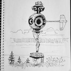 Simon Stålenhag sketchbook