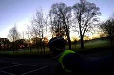 Sunday morning ladies & gentlemen. : GoPro Session  #AATR #allabouttheride #cycling #bicycling #cyclinglife #roadcycling #Sundayride #wintertraining #wintersun #sunrise #cycletography #goprophotography #GoPro #fromwhereiride #ridewithaview #Norfolk
