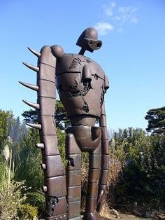 Giant robot from the Tokyo Ghibli Museum tour