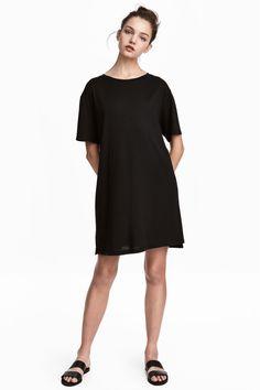 T-shirtjurk - Zwart - DAMES | H&M BE 1