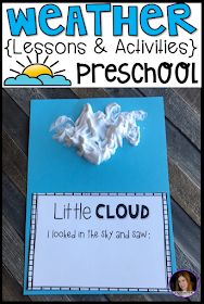 Weather Activities for Preschool - Kindergarten Rocks Resources - Weather Themed Crafts and Activities - Little Giggles and Wiggles: Weather Centers, Lessons and Activities for Preschool - Weather Activities Preschool, Weather Kindergarten, Weather Science, Preschool Lesson Plans, Preschool Kindergarten, Weather Unit, Science Activities, Science Experiments, Preschool Crafts