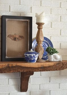 how to decorate a mantel like The Nester www.thenester.com