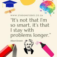 🌈 🔥 Probleme word nie oornag opgelos nie. Dit vat tyd en moeite. Dit wat jy insit, gaan jy uitkry! 💥 🧠 Sukkel jy met begripstoetse? Woon ons aanlyn werkswinkel by en leer die regte stappe om begripstoetse te antwoord. 📕📗📒 Benodig jy hulp met studiemetodes? Kontak ons. 👩🏫 📲 www.studiemetodes.co.za info@studiemetodes.co.za #einstein #dontgiveup #succes #problemsolving