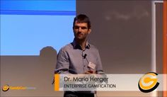 If you weren't able to attend the Gamify Conference, 2013, during the Medientage München, you can still enjoy the talks! :-) We will put them online one after another.  Let's start today with the inspiring talk from Mario Herger ( @Mario Herger ) about Enterprise #Gamification.  Let us know how you like it!