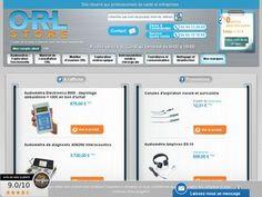 """La boutique """"ORL Store"""" est spécialisée dans la distribution des équipements d'ORL."""