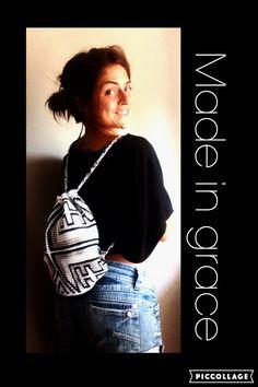 Crochet wayuu mochila bag 90€