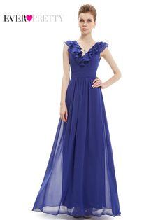 Clearance Sale  Evening Dresses Ever Pretty Women V-neck Empire Waist  Burgundy HE08500 0c9ca5f8ead8