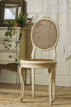 アンティーク リボンチェアB  French Antique Chair