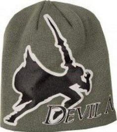 Devil May Cry 4 Grey Beanie Hat Symbol Style A Dante Logo