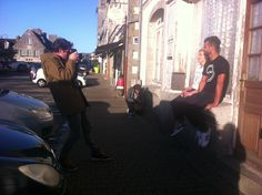 Backstage shooting fw13 #LaFactory41 #shooting #makingof #photoshoot #Bretagne #sun #boy #girl #outfit #look #tshirt #LaFactory41 #jean #Edwin #sneakers #Adidas #photographe #artiste #BenjaminDeroche