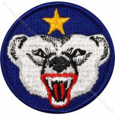 Army Patch: U.S. Army Alaska Defense Command - color