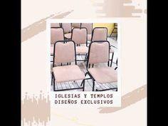 💗Atención Iglesias! y Templos 💗Tu Diseño Exclusivo Iglesias, Floor Chair, Flooring, Furniture, Home Decor, Temples, Model, Metal Furniture, Chairs