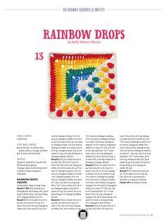 Yellow, Blue, Outdoor Blanket, Rainbow, Crochet, Red, Rain Bow, Rainbows, Ganchillo