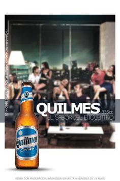 Quilmes porrón. Quilmes es una cerveza de tipo lager y como todas estas, tiene un contenido alcohólico reducido, solo un 4,9%. Posee un perfecto equilibrio para ser una cerveza suave pero con cuerpo, y un amargor medio logrando así un sabor original y fresco.