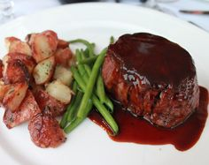 Red Wine Balsamic Steak @ http://allrecipes.com.au