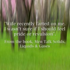 Quote from the book, Men Talk