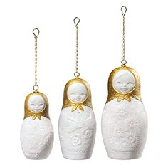 Lladro Matrioskas Ornaments. #Lladro #Statue #Sculpture #Decor #Gift #gosstudio .★ We recommend Gift Shop: http://www.zazzle.com/vintagestylestudio ★