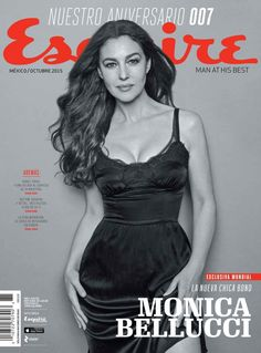 Monica Bellucci for Esquire Mexico October 2015 cover