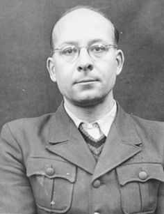"Helmut Poppendick, MD,Ph.D. was Chief of the Personal Staff of the Reich Physician SS and Police.He was an expert in ""race hygiene"" and was promoted chief of staff at the SS Main Race and Settlement Office. He was implicated in medical experiments on concentration camp inmates but he was acquitted by a US tribunal on war crimes charges.A 10-year sentence imposed on him being an SS member was commuted and he was released in 1951.He died a free man in 1994."