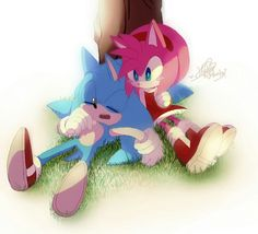 Just you wait Amy! In Sonic boom, you'll finally catch him! Amy Rose, Sonic The Hedgehog, Sonamy Comic, Sonic Franchise, Sonic And Amy, Sonic Art, Freedom Fighters, Coraline, Equestria Girls