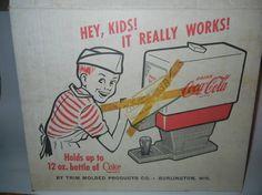 1960s Toy Fountain Coca Cola Soda Dispenser