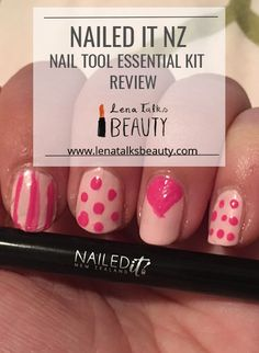 Jessie from Nailed it NZ released her own line of nail art brushes, and sent me the Nailed it NZ Nail Tool Essentials Kit. Nail Art Brushes, Nail Tools, Nail Polish, Essentials, Posts, Kit, Nails, Blog, Beauty