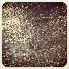 awesome silver mosaic tile  magpiebyhaskellharris.blogspot.com