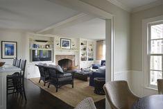 Guest House Living Room  Nantucket, Massachusetts | Ferguson & Shamamian