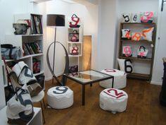 Boutique 727 Sailbags au 19 rue du Jour à Paris dans le 1er arrondissement