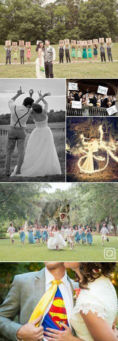 Pimp my Hochzeitsfoto - Ideen für kreative Hochzeitsfotos