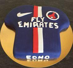 #birthday #cake #maillot du #PSG