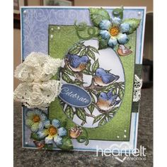 Heartfelt Creations - Celebrate Bluebirds And Blooms Project