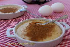 Cocina compartida: Natillas caseras con canela