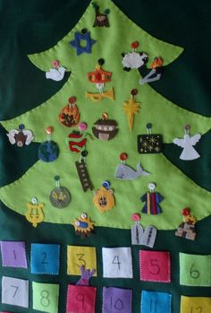 I just love the idea of a Jesse's tree to celebrate Christmas within the context of God's great story.